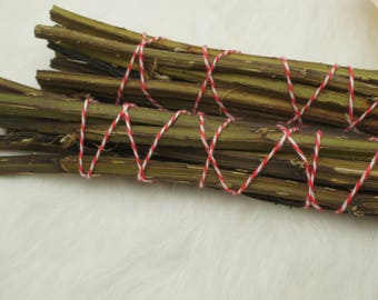 Witch's Whisks - Natural, Wildcrafted Smudge - Blackberry Vines for Cleansing and Consecration