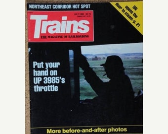 BTS Trains Magazine July 1989