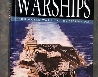 BTS The Encyclopedia of Warships: From World War II to the Present Day Cofffee Table Hardback Book