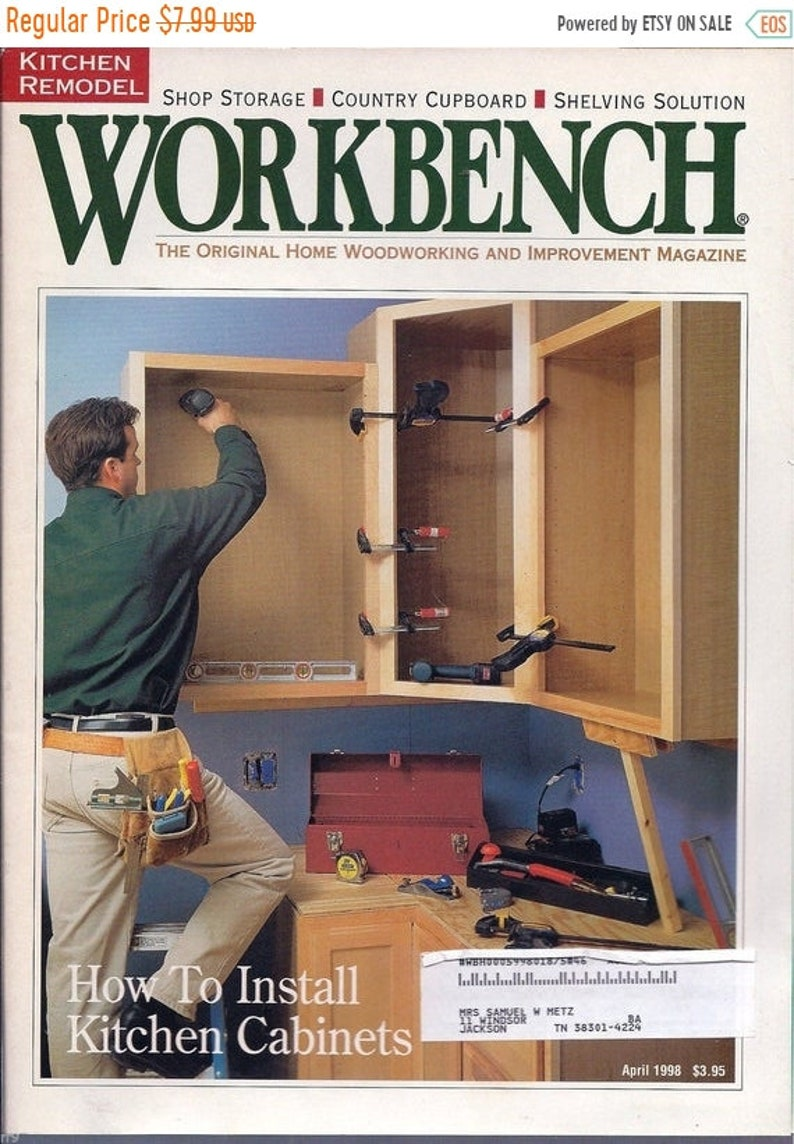 Workbench Magazine February 1998 Build Bird House Chimney Mantel Design