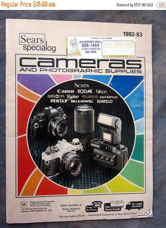 Sears Camera and Photogaphic Supplies Catalog 1982-83