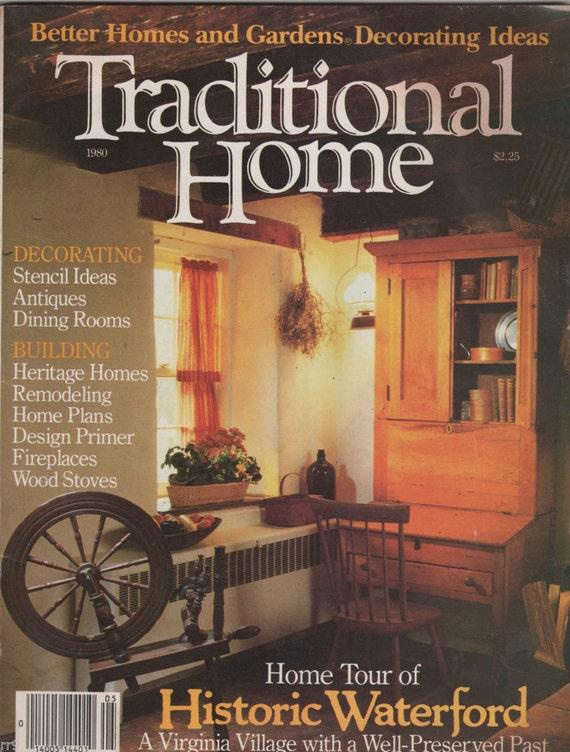 Traditional Home Ideas Magazine BHG Decorating Ideas 1980/81