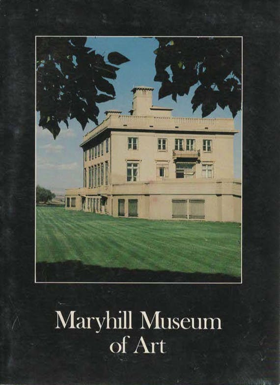 Maryhill Museum of Art To the Memory of Her Majesty Queen Marie of Romania  1978 Book