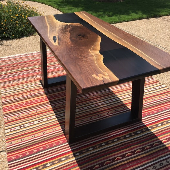 Berns Table Resin River Table Etsy