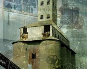 Photomontage - Silo of Infinite Memories