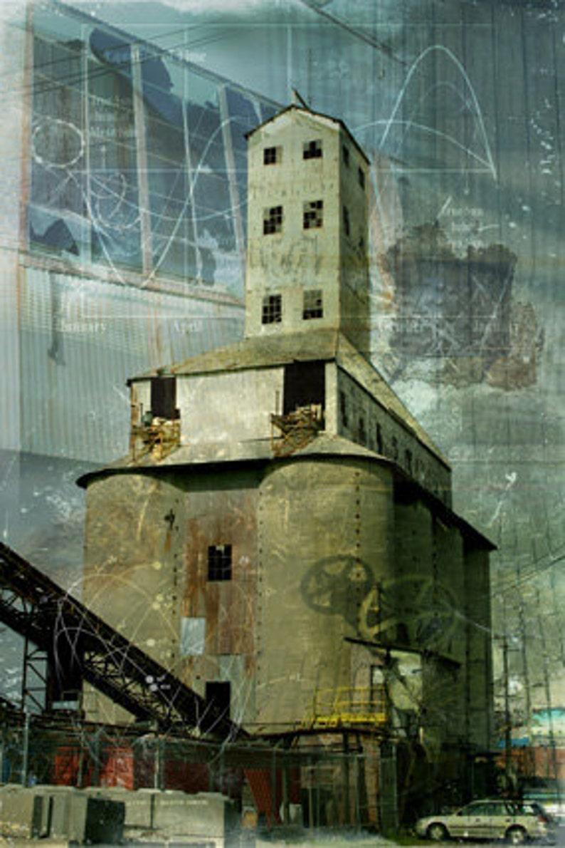 Photomontage  Silo of Infinite Memories image 0