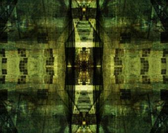 Photomontage - Ancient Passageways