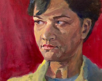 """Portrait Study 16x20"""" oil painting"""