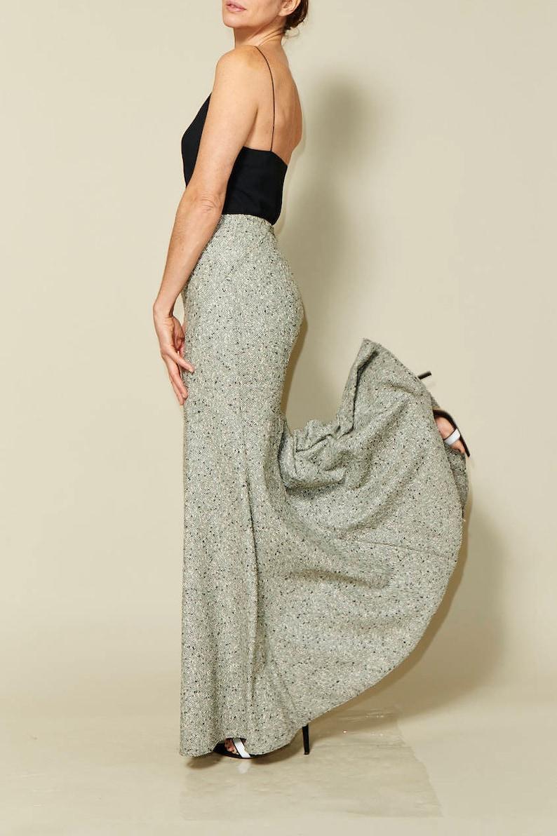 Yasmeen Skirt Sewing Pattern  Size 34 to 46  Just Patterns image 0