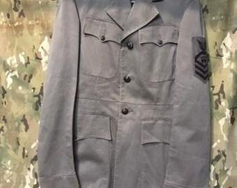 0ea6449ba39c Vintage US Navy 1943 44 Blackout Gray Dress Uniform
