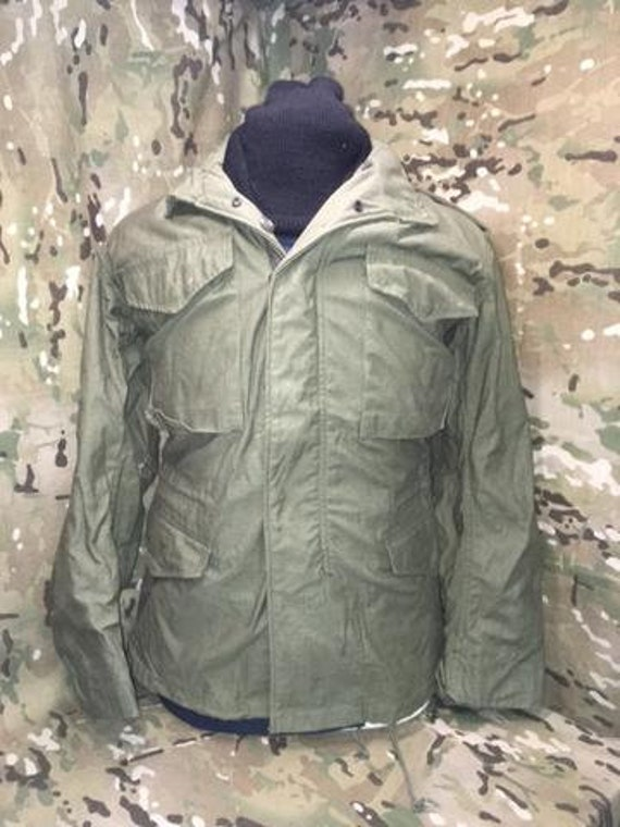 721f022ab55 M-65 XSR US Military Vintage Olive Drab Cold Weather M-65