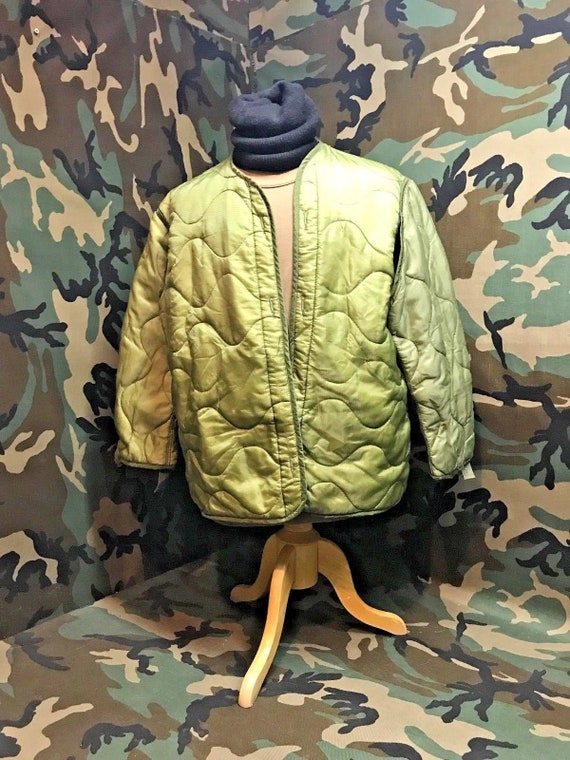 3b75a49bc4a US Military Vintage Cold Weather M-65 Field Jacket Liner
