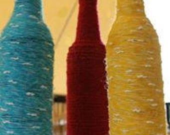 set of  decorative bottles 0123