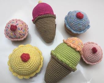 Icecream or Cupcake crochet
