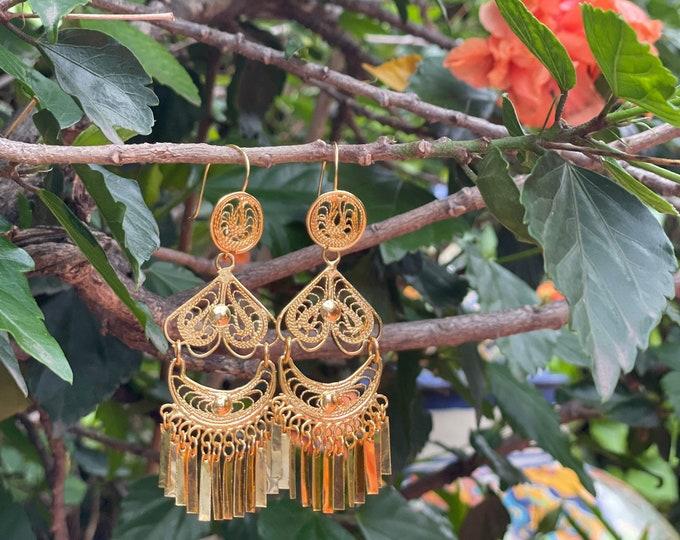 Flora Oaxaqueña Earrings