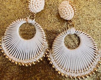 Cancun Night Earrings