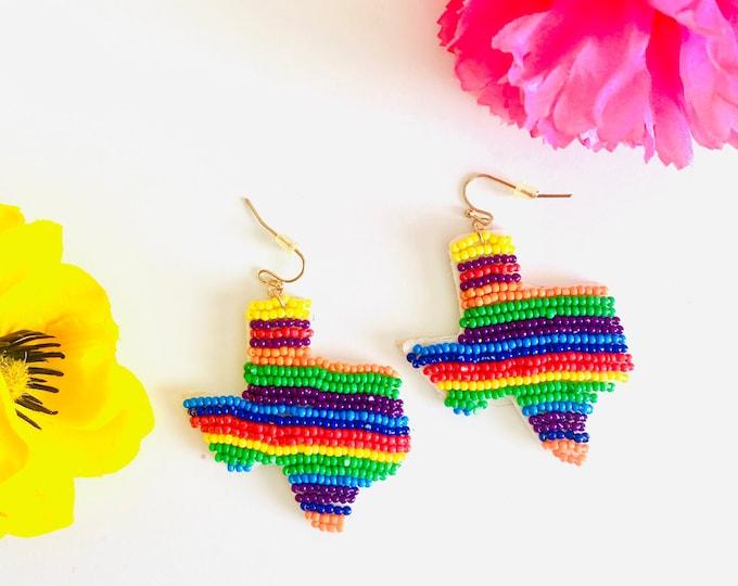 Texas Rainbow Earrings