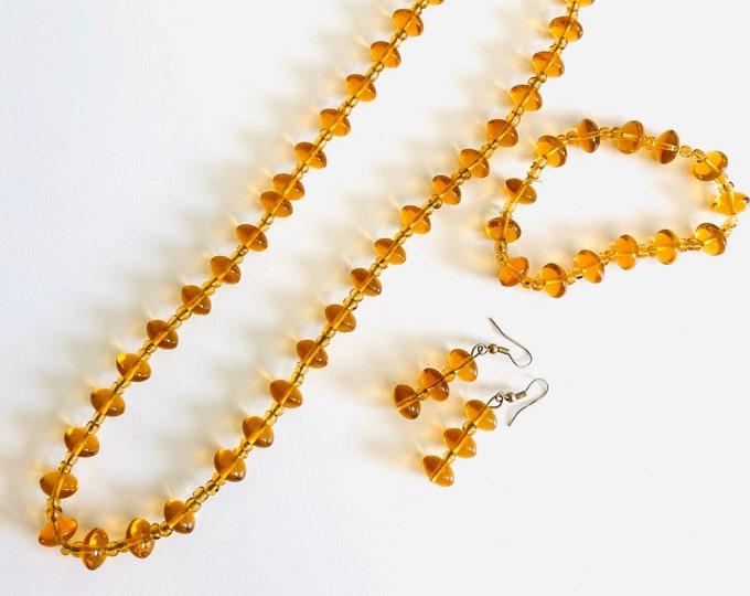 Circular Amber Set
