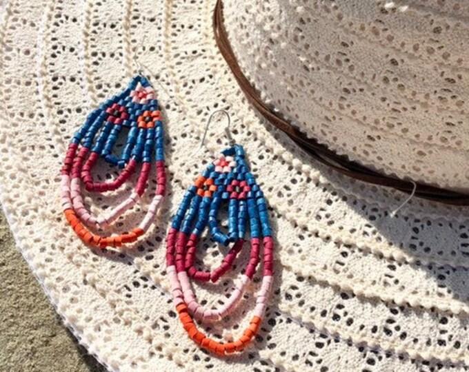Cascadas de Color Earrings
