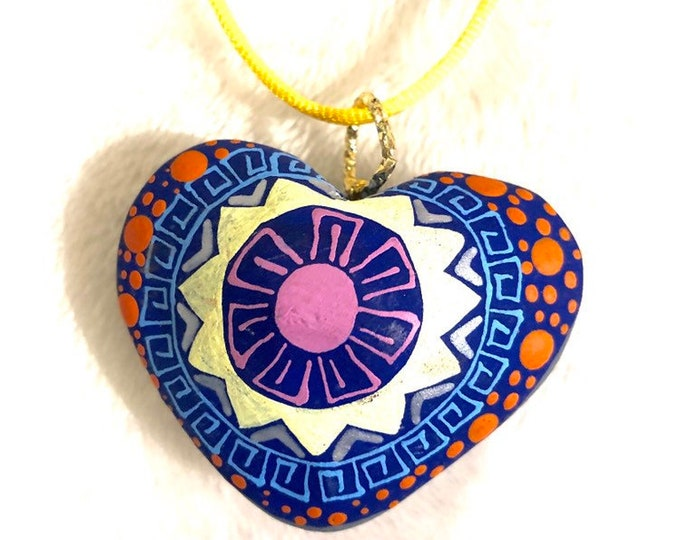 Mi Sol Corazon Necklace