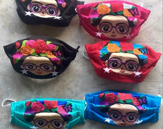 Nerdy Frida Face Masks