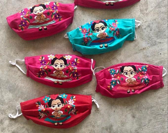 Frida Muñeca Face Masks