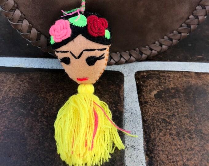 Frida Kahlo Pompom