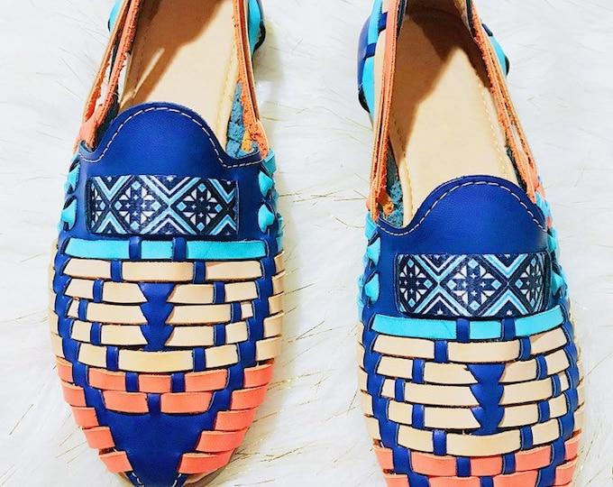 Blue/Orange Women's Shoe