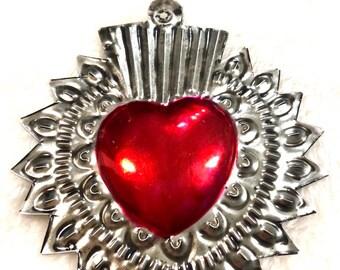 Mi Amor Tin Ornament