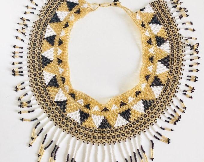 Porpura Huichol Necklace