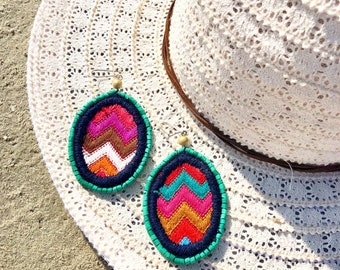 Colores de Guatemala Earrings