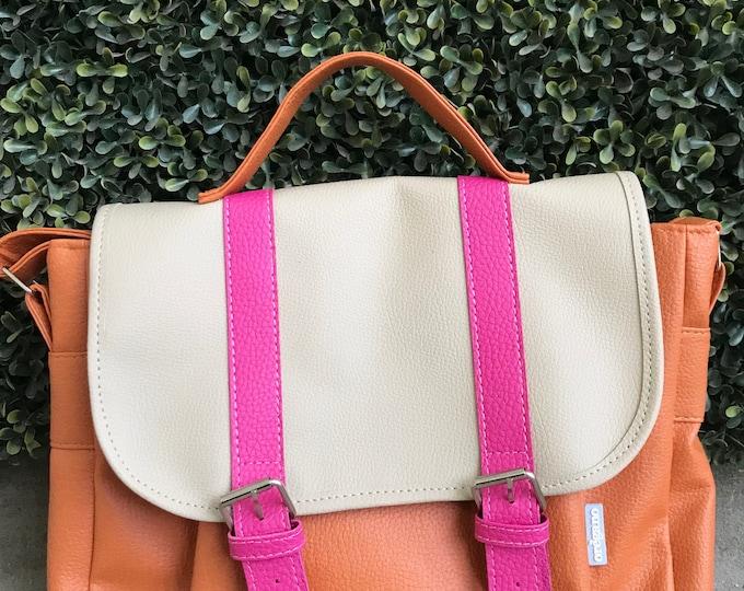 Messenger Bag- Orange