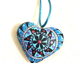 Mi Corazon de Colores Necklace