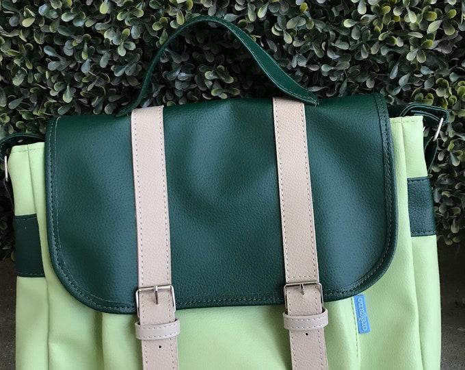 Messenger Bag- Green
