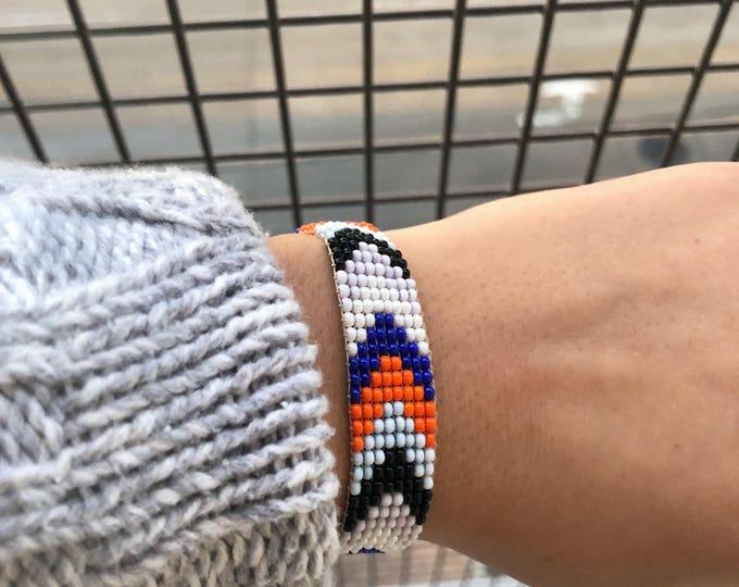Huichol Colorful Bracelets