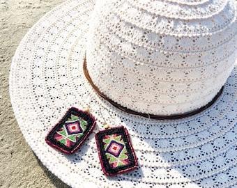 Textiles de Guatemala Earrings