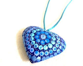 Mi Corazon Azul Necklace