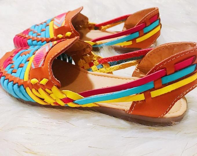 Colorful Brown Women's Shoe