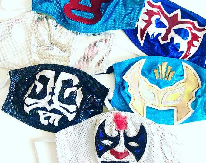 Lucha Libre Face Masks