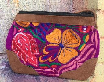 Handmade bag/Embroidery bag/ Shoulder Bag/ Crossbody Bag