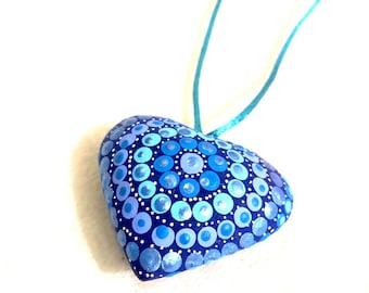 Mi Corazon Azul Necklace