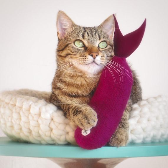Washington Organic Catnip Cat Toy Wool-blend Felt