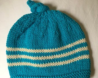 Baby top knot hat  be6ce6d32fe8