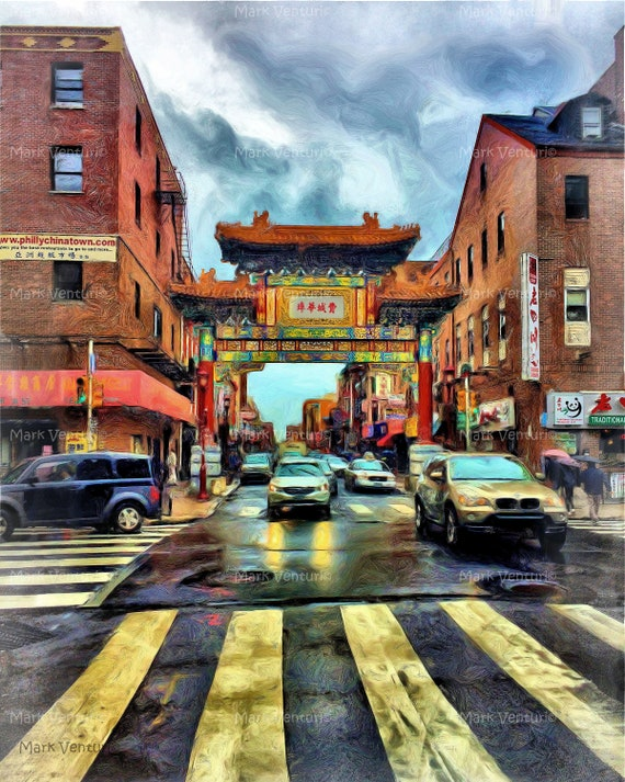 Philadelphia, Chinatown, Pagoda, Philadelphia Art, Philadelphia Print, 10th and Arch Street, Fine Art Photography, Art And collectible,