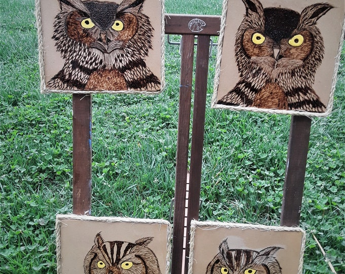 pyrography, wood art
