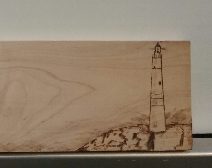 Woodburning art