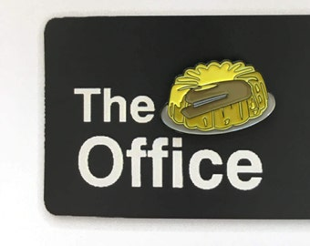 Dwight's Stapler in Jello Enamel Pin (The Office, TV Show)