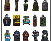 Perk-a-Cola Pin Set - all 15 COD Zombies Perk Machines