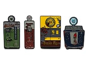 Call of Duty Perk-a-Cola Complete Enamel Pin Set Speed Cola, Juggernog, Double tap Root Beer, Quick Revive
