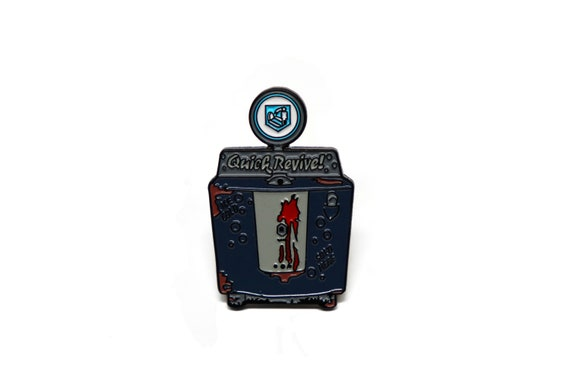 Quick Revive Call Of Duty Zombies Perk A Cola Enamel Pin Etsy